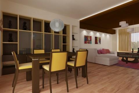 Obývací pokoj - Ethno