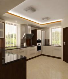 Kuchyň - Brown and Vanilla