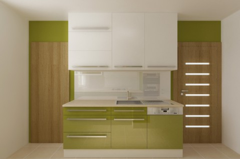 Kuchyň - Lime