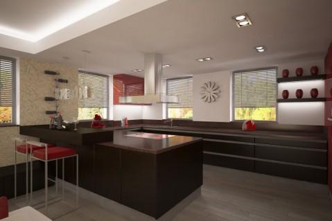 Kuchyň - Red