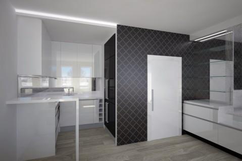 Kuchyň - Black and White