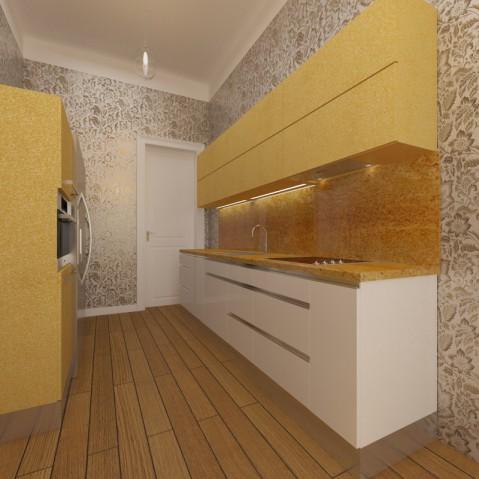 Kuchyň - Gold